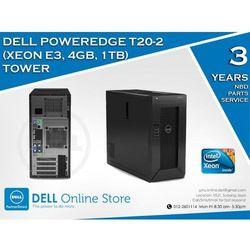 DELL PowerEdge T20 XEON QUAD CORE 4X 3.4/16GB 2x1TB Win.Server Fund. 2012/3NBD z kategorii Serwery