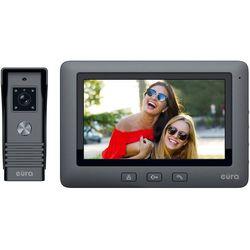 Wideodomofon EURA VDP-45A3 ALPHA czarny kolor monitor 7'' obsługa 1 wejścia, VDP-45A3