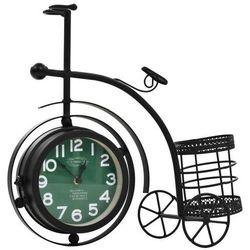 Dwustronny zegar w kształcie roweru trójkołowego, vintage marki Vidaxl