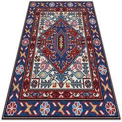 Dywanomat.pl Modny uniwersalny dywan winylowy modny uniwersalny dywan winylowy ludowe ornamenty