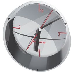 Bugatti - Glamour zegar ścienny, chromowany
