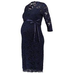 MAMALICIOUS MLMIVANA Sukienka letnia navy blazer