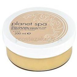 Avon Planet Spa African Shea Butter maseczka do wszystkich rodzajów włosów + do każdego zamówienia upominek.