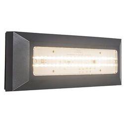 Lampa ścienna Brick ciemnoszara z kategorii lampy ścienne