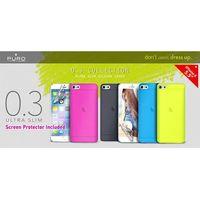 PURO Ultra Slim 0.3 Cover - Zestaw etui + folia na ekran iPhone 6 5.5 (niebieski) Odbiór osobisty w ponad 40