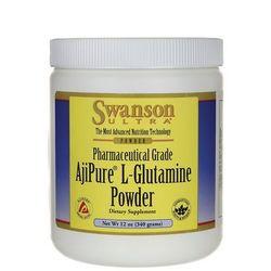 Swanson ajipure l-glutamina 340g wyprodukowany przez Swanson, usa