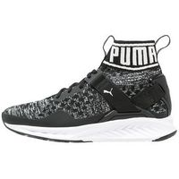 Puma IGNITE EVOKNIT Obuwie do biegania treningowe black/quiet shade/white