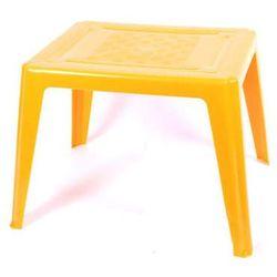 Stolik dziecięcy As prostokątny żółty z kategorii krzesła i stoliki