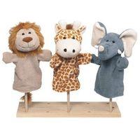 Pacynka na dłoń - dla dzieci - dzikie zwierzątka marki Goki