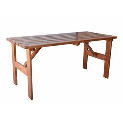 stół ogrodowy viking 180 cm, brązowy marki Rojaplast