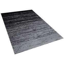 Dywan krótkowłosy czarny 160 x 230 cm KATERINI