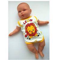 Body niemowlęce Lwiątko Bez rękawów Rozm. 74-80, 4546-3581C