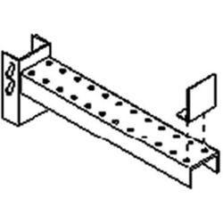 Rama do długich towarów i półek, konstrukcja średnio ciężka, gł. użytkowa 850 mm