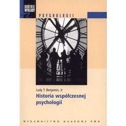 HISTORIA WSPÓŁCZESNEJ PSYCHOLOGII (oprawa miękka) (Książka) (ISBN 9788301155544)