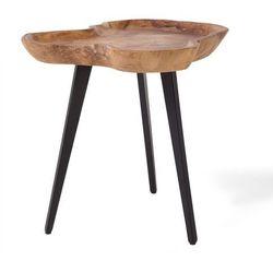 Beliani Stolik kawowy - drewniany - do pokoju - ława kawowa - stół - elsa