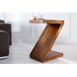 Sofa.pl Invicta stolik z 45 cm sheesham - lite drewno palisander