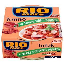 RIO MARE 160g Tuńczyk w sosie z papryką | DARMOWA DOSTAWA OD 200 ZŁ - produkt z kategorii- Konserwy i przet