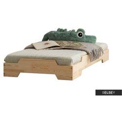 łóżko hallie dziecięce z drewna marki Selsey