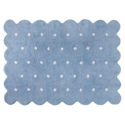 Dywan do prania w pralce: galleta - azul/blue (120x160 cm), marki Lorena canals