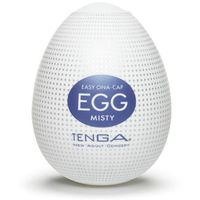 Tenga Egg Misty - Jajka do masturbacji Mgliste (6 szt.)