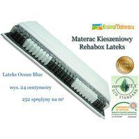 Materac kieszeniowy  rehabox lateks 200x160 od producenta Hevea