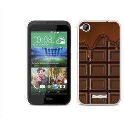 Fantastic Case - HTC Desire 320 - etui na telefon Fantastic Case - tabliczka czekolady