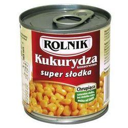 Kukurydza konserwowa super słodka 212ml , marki Rolnik
