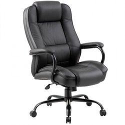 Krzesło biurowe MONUMENT II, czarne