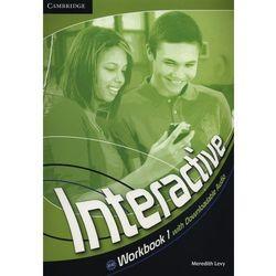 Interactive 1 Workbook (zeszyt ćwiczeń) with downloadable audio (lp), książka z kategorii Nauka języka