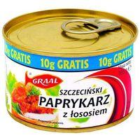 GRAAL 165g Paprykarz szczeciński z łososiem | DARMOWA DOSTAWA OD 150 ZŁ! - sprawdź w wybranym sklepie