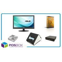 Zestaw POS ECONOMY, komputer mini PC, monitor dotykowy, drukarka fiskalna, szuflada, oprogramowanie