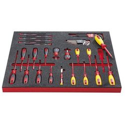 Vigor Zestaw narzędzi electronic, wkrętak elektroniczny i wyposażenie dodatkowe, 39-cz