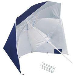 Parasol plażowy namiot parasol ogrodowy ciemnoniebieski marki Springos