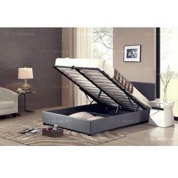 Łóżko 160x200 tapicerowane milano sawana szare marki Big meble