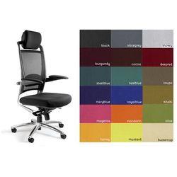 Fotel biurowy obrotowy UNIQUE FULKRUM - kolory!