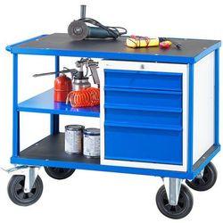 Wózek warsztatowy MOBILE, szafka z szufladami, 875x1000x700mm