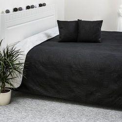4Home Narzuta na łóżko Doubleface biały/czarny, 220 x 240 cm, 40 x 40 cm, 203299