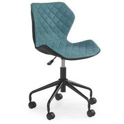Młodzieżowy fotel obrotowy Halmar - MATRIX - turkusowy - ZŁAP RABAT: KOD30, V-CH-MATRIX-turkusowy