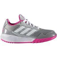 Adidas  performance altarun obuwie do biegania treningowe mid grey/white/shock pink (4057283619579)