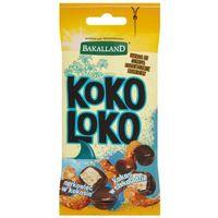 50g koko loko mieszanka kostki kokosowej w czekoladzie i prażonego kokosowego nerkowca marki Bakalland