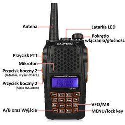 BAOFENG UV-6R Duobander 7W 2m/70cm VHF & UHF - produkt z kategorii- Pozostałe telefony i akcesoria