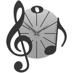 Calleadesign Zegar ścienny vivaldi  czarny