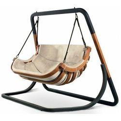 Podwójny beżowy fotel wiszący do ogrodu - Pasos 4X