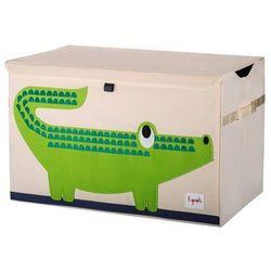 Duże pudło zamykane - krokodyl