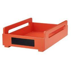 KIDS CONCEPT Organizer na dokumenty A4 Poppy kolor pomarańczowy (7340028715276)