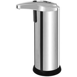 Bisk Dozownik do mydła w płynie automatyczny wolnostojący plastik chrom