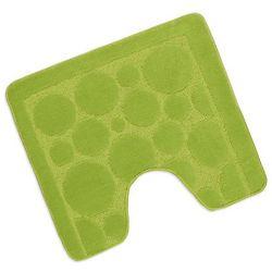 Bellatex  podkładka pod wc standard jasnozielony bąbelki, 60 x 50 cm, kategoria: dywaniki łazienkowe