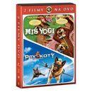 Galapagos films Pakiet zwariowane zwierzaki (2 dvd)