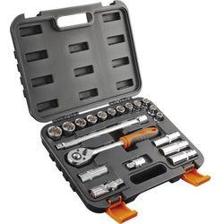 Neo Zestaw kluczy nasadowych  10 - 24 mm 1/2 cala 08-661 (20 elementów)