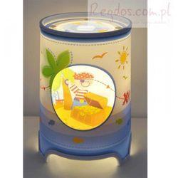 Lampa lampka na szafkę nocna Pirat Piraci LED